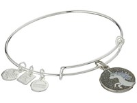 Alex And Ani Charity By Design Unicorn Charm Bangle Shiny Silver Charms Bracelet Metallic