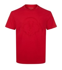 True Religion Embroidered Buddha T Shirt Male