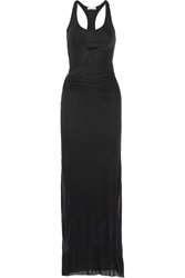 Helmut Lang Racer Back Jersey Maxi Dress