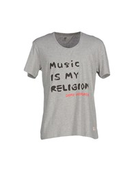 Red Soul Topwear T Shirts Men Grey