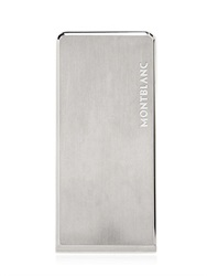 Montblanc Stainless Steel Engraved Money Clip