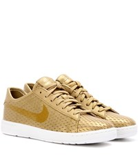Nike Tennis Classic Ultra Leather Sneakers Gold