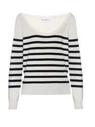 Raey Off The Shoulder Cashmere Knit Sweater