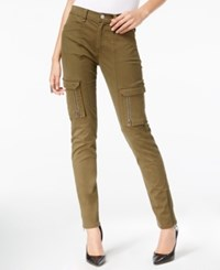 William Rast Utility Slim Leg Pants Olive Night