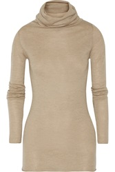 Enza Costa Turtleneck Cashmere Sweater