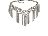 Jules Smith Designs Women's Fringe Choker Silver