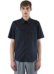 Ss16 Yang Li Boy Scout Shirt Black