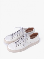Buttero Tanino Leather White Perforated