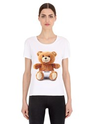Moschino Bear Cotton T Shirt
