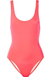 Solid And Striped The Anne Marie Swimsuit Bright Pink