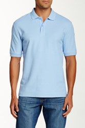 Faconnable Solid Polo Blue
