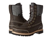 Woolrich Squatch Java Leather Men's Boots Brown