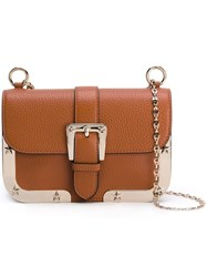 Red Valentino Buckle Detail Shoulder Bag Nude Neutrals