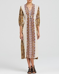 Free People Dress Printed Azalea Tea Combo