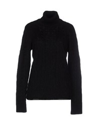 Kaos Knitwear Turtlenecks Women Black