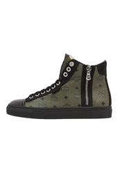 Michalsky Urban Nomad Iii Hightop Trainers Olive