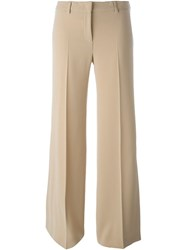 Alberto Biani Wide Leg Trousers Nude And Neutrals
