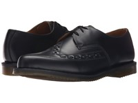 Dr. Martens Ally Monk Strap Creep Black Smooth Lace Up Casual Shoes