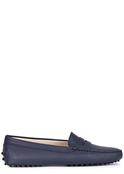 Tod's Gommino Navy Leather Driving Shoes