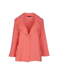 Anne Claire Anneclaire Suits And Jackets Blazers Women Coral