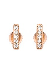 Astley Clarke 'Linia Halo' Stud Earrings Metallic