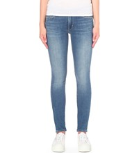 Levi's 711 Skinny High Rise Jeans Pale Night