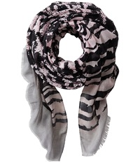 San Diego Hat Company Bss1402 Oversized Houndstooth Pattern Fabric Scarf Black Scarves
