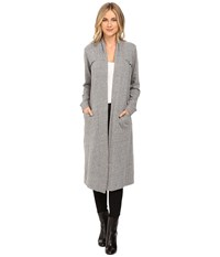 Lanston Maxi Cardigan Heather Women's Sweater Gray