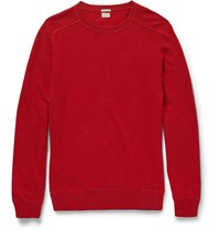 Massimo Alba Knitted Cashmere Sweater Red