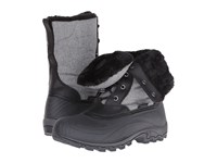 Kamik Harper Grey Black Women's Cold Weather Boots Gray