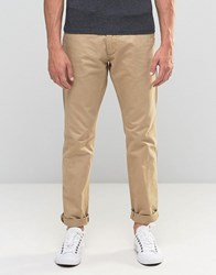 Esprit Chinos In Regular Fit In Beige Beige