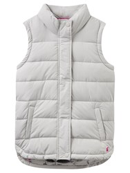 Joules Eastleigh Padded Gilet Silver