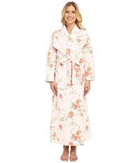 Carole Hochman Long Shawl Collar Robe Meadow Women's Robe Green
