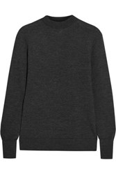 Iris And Ink Cashmere Sweater Charcoal