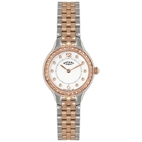 Rotary Women's Stainless Steel Bracelet Watch Rose Gold