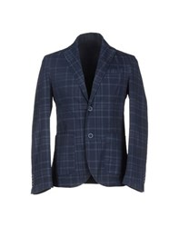 Roberto Pepe Suits And Jackets Blazers Men Dark Blue