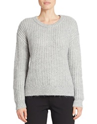 424 Fifth Drop Shoulder Sweater Platinum Heather