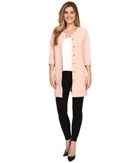 Nydj Textured Topper Coat Rosewater Women's Coat Pink