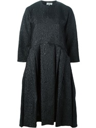 Studio Nicholson 'Effie' Pleated Dress Black