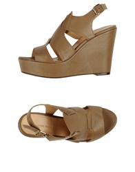 Tila March Footwear Sandals Women Khaki