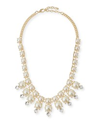 Jules Smith Designs Jules Smith Faux Pearl Crystal Necklace Women's