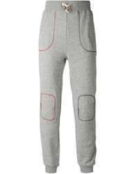 Band Of Outsiders Contrasting Stitches Track Trousers