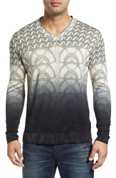 Robert Graham Men's Lazio V Neck Wool Sweater