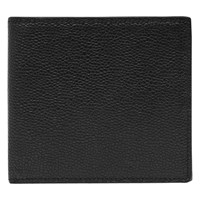 Reiss Gillis Textured Foldover Wallet Black