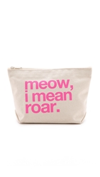 Dogeared Meow I Mean Roar Pouch