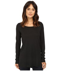 Alternative Apparel Cotton Modal Jersey Around Town Tunic Black Women's Clothing
