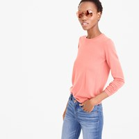 J.Crew Collection Featherweight Cashmere Long Sleeve T Shirt