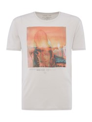 Label Lab Biker Girl Graphic Tee Off White