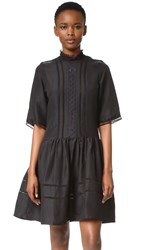 Matin Marais Short Sleeve Dress Black