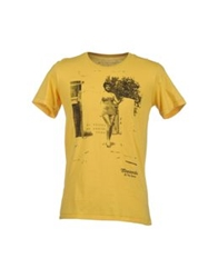 Misericordia Short Sleeve T Shirts Yellow